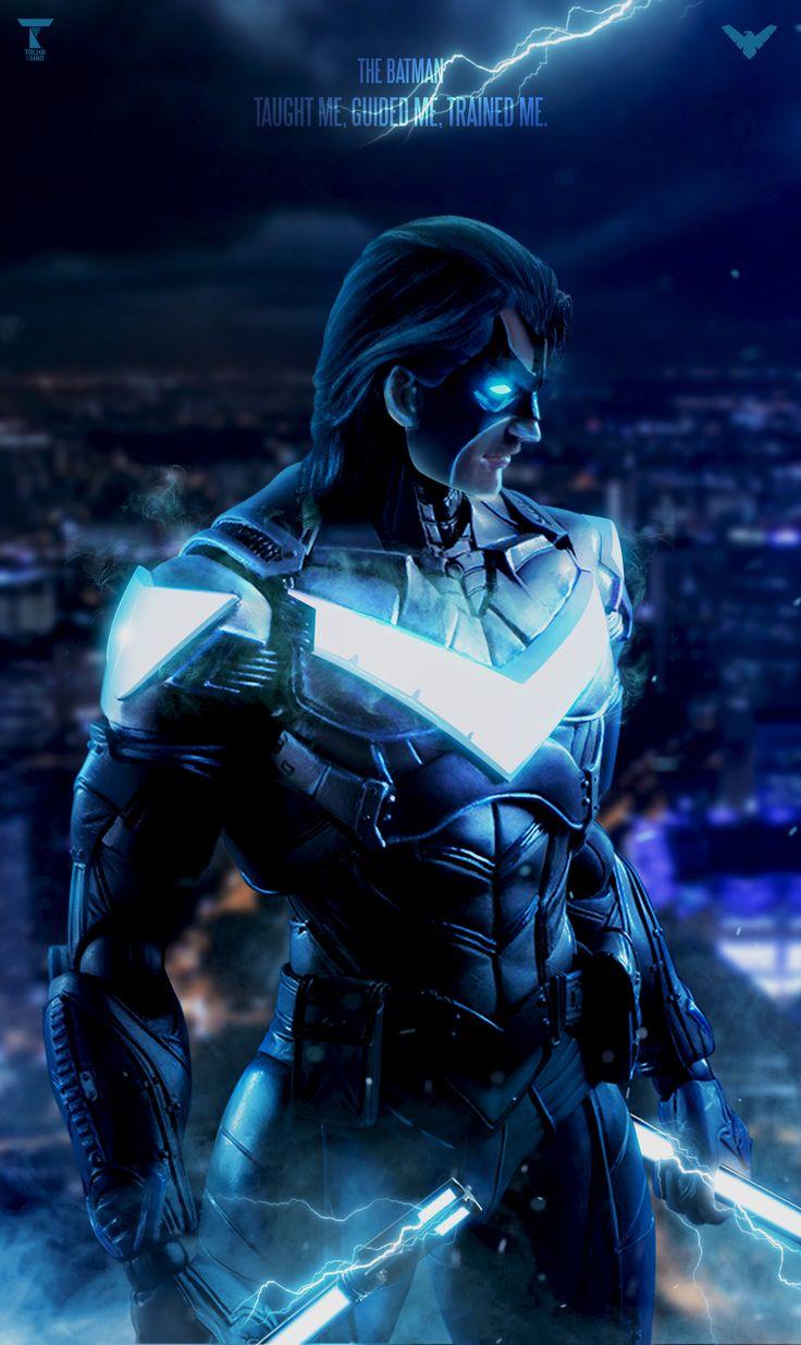 ArtStation - Nightwing, Talha Khan