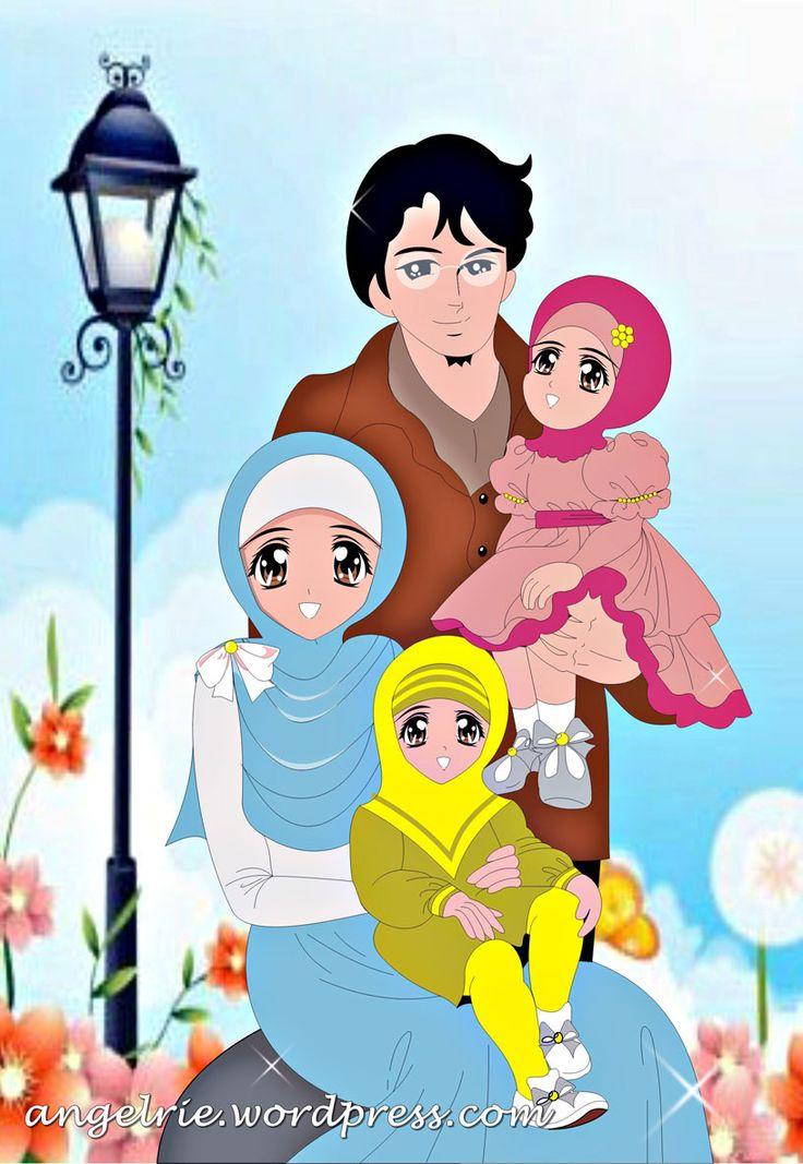 Gambar Kartun Muslimah Nikah (Dengan gambar) Kartun