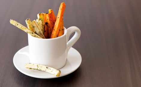 Epicure's Parsnip & Carrot Oven Fries