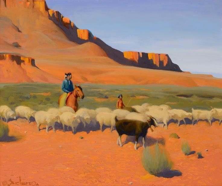 Land of the Dineh – Santa Fe Art Auction