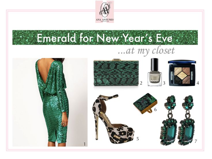 emerald, green, new year's eve dress