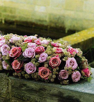 Rouw toef roze