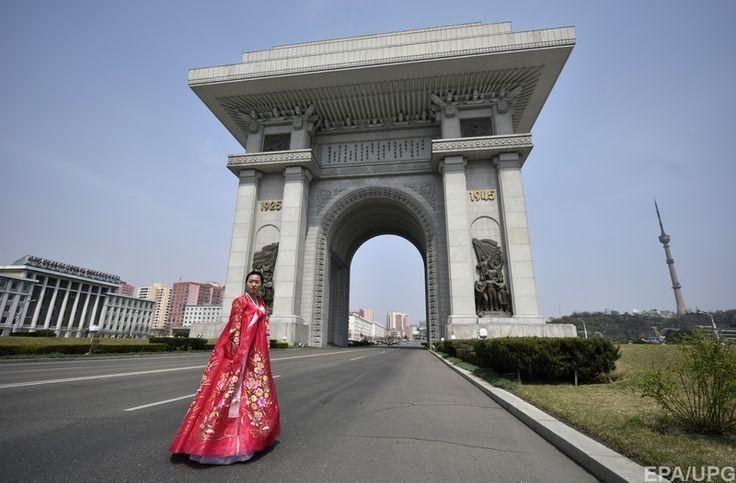 Северная Корея, Пхеньян. Триумфальная арка