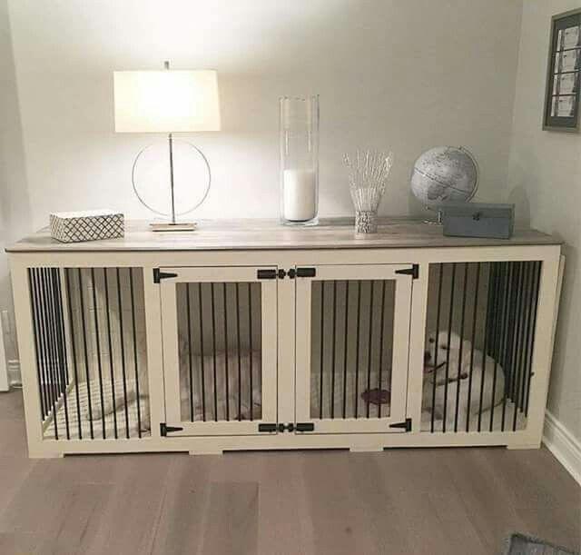 In plaats van een lelijke bench in de kamer kun je een oud dressoir ombouwen…