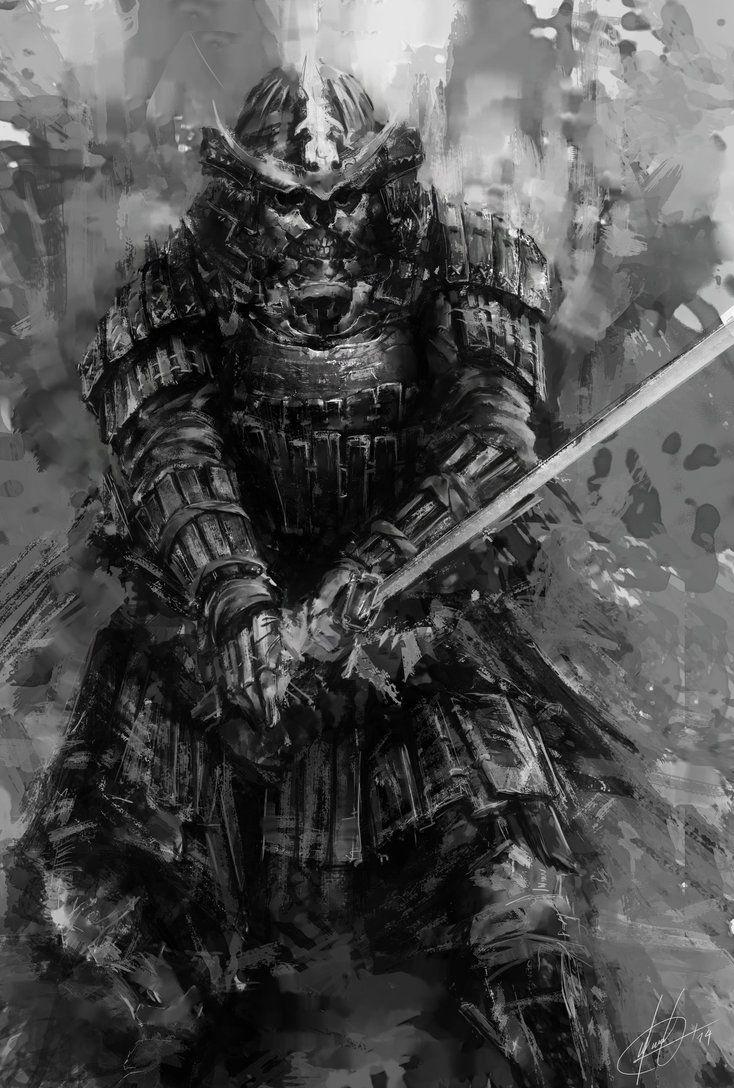 samurai deviantart cerca con google bushido samurai