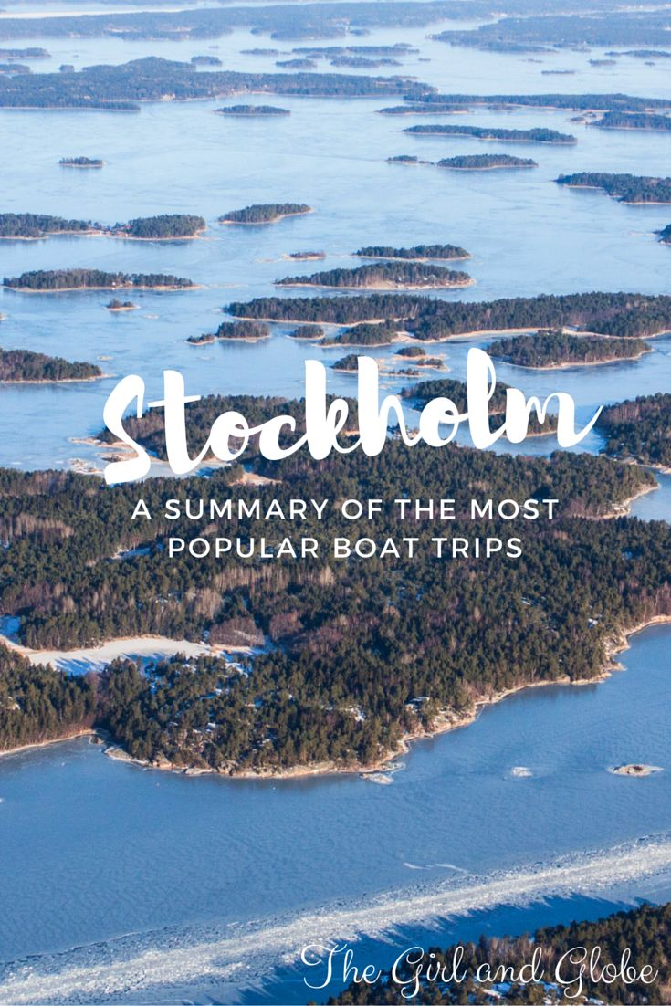 How do you decide which Stockholm archipelago cruise to take? Check out this easy comparison of boat cruises and day tours for Stockholm Sweden travel.