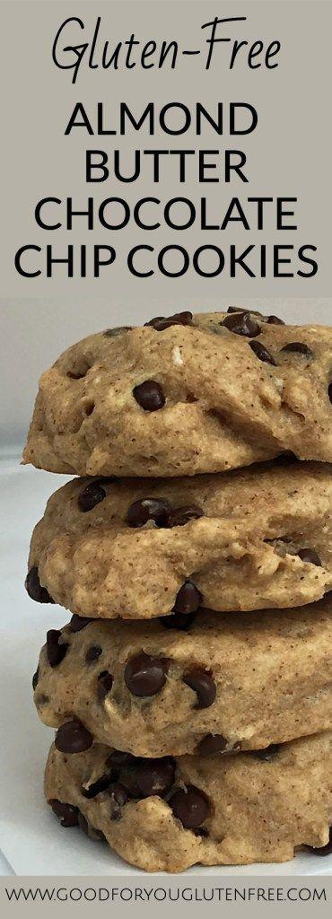 Gluten-Free Almond Butter Chocolate Chip Cookies