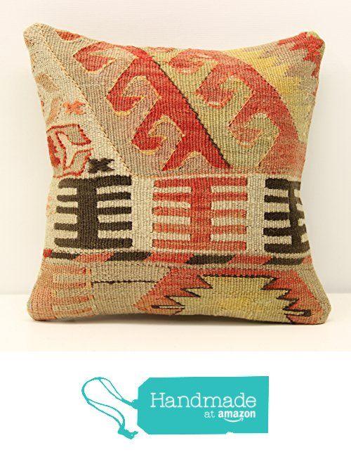 Oriental Handmade kilim pillow cover 12x12 inch (30x30 cm) Throw Kilim pillow cover Accent Small Pillow cover Throw Kilim Cushion Cover https://www.amazon.com/dp/B01MU77UEB/ref=hnd_sw_r_pi_dp_AwpBybNTFV6NQ #handmadeatamazon