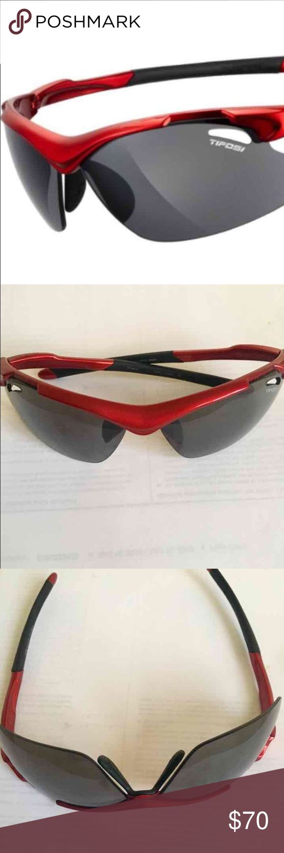 TIFOSI 2.0 Tyrant Golf sunglasses 2.0 golf Sunglasses with red frame  Never worn! In new condition. Tifosi Optics Accessories Sunglasses