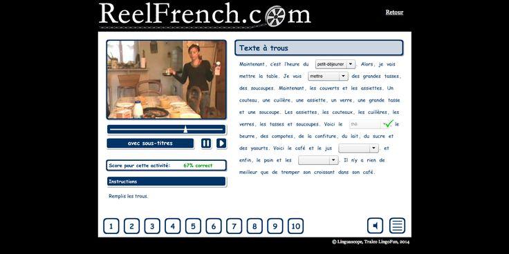 ReelFrench.com | Le petit-déjeuner