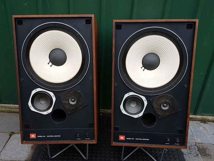 vintage JBL 4311 Control Monitor Speakers excellent condition | eBay