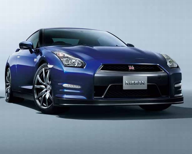 The 2012 Nissan GTR!! It only costs 100,000 haha!!