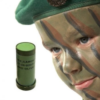 Camo Face Paint Stick