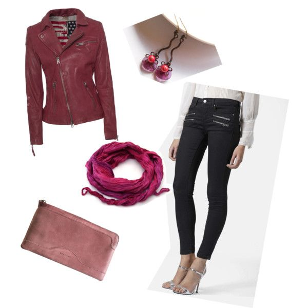 Pink by artemisfantasy on Polyvore featuring True Religion, Topshop and Kjøre Project
