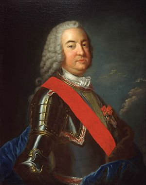 His Excellency the Governor of New France, the Marquis de Vaudreuil-Cavignal.
