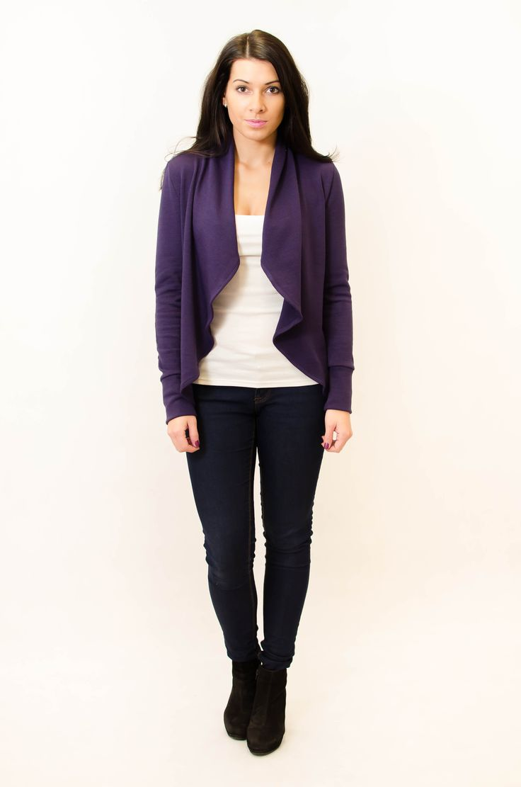 Violet cardigan!  More here => www.kadunda.cz