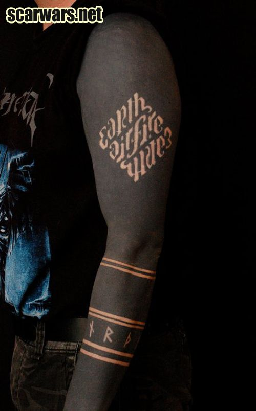 All Black Tattoo Sleeve: Google Image Result For Http://scarwars.net/wordpress/wp