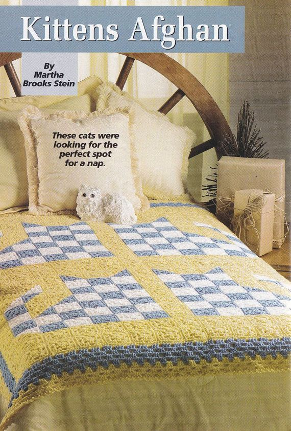 Cat Afghan Crochet Pattern - Hooked on Crochet Christmas Issue