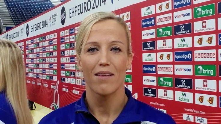 """Handball-EM: Heidi Löke """"Goldmedaille ist etwas ganz Besonderes für mich."""" #sport4final #ehfeuro2014 #handballem2014"""
