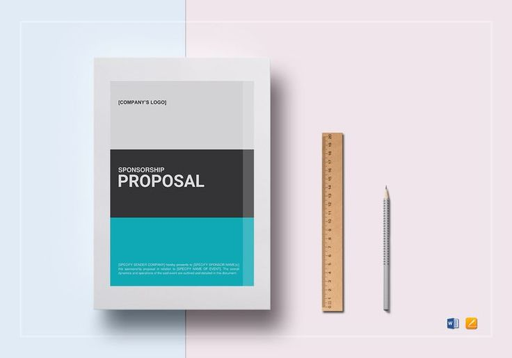 Sponsorship Proposal Template  $25  Formats Included : MS Word, Pages File Size : 8.5x11 Inchs, 8.27x11.69 Inchs  Pages :10 #SponsorshipProposal #Documents #Documentdesigns #ProposalDocumentdesigns #ProposalDocuments