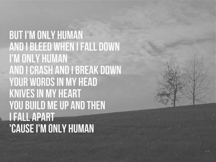 """Human"" -Christina Perri 