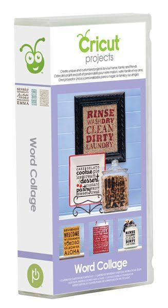 Free Cricut Cheat Sheets | Just A Scrappin': New Cricut Project Cartridge - Word Collage
