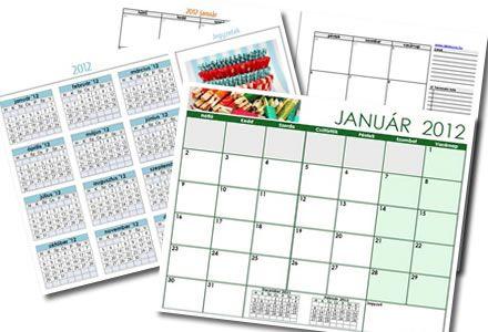 letölthető naptár