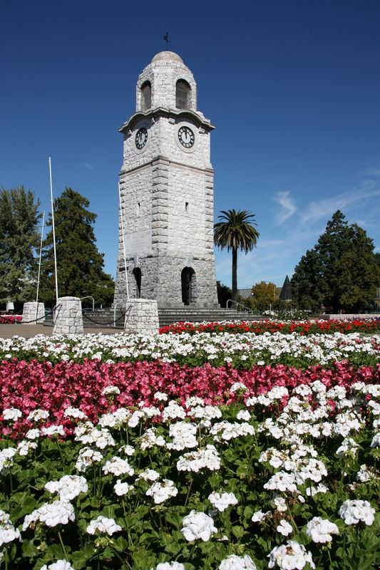 Blenheim, a town on New Zealand's South Island