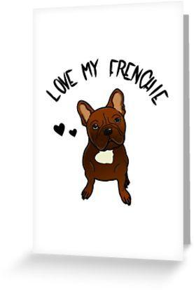 Liebe Meine Franzosische Bulldogge Grusskarte Von Zuckergusche Mit Bildern Bulldogge Franzosische Bulldogge Grusskarte
