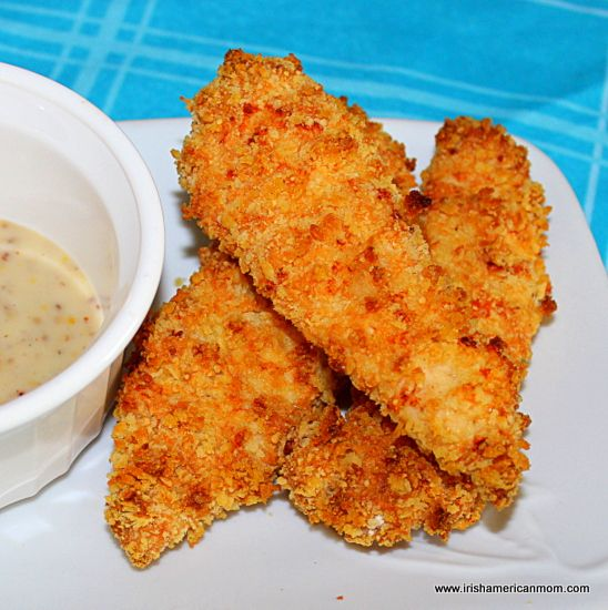 Homemade Baked Chicken Tenders with a Panko and Parmesan Crust