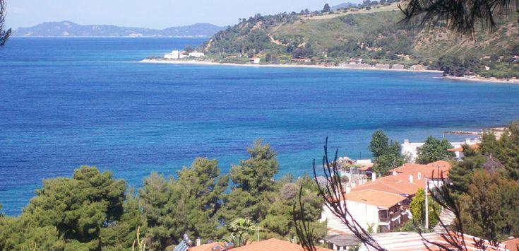 Loutra view in Agia Paraskevi #Halkidiki #Greece #travel