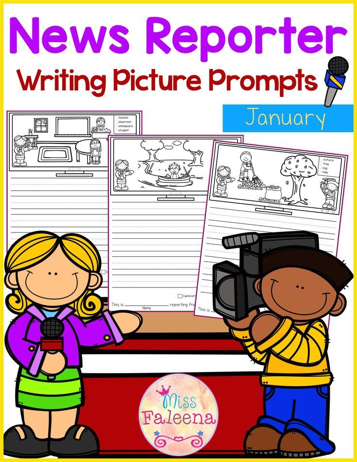 January Writing Picture Prompts contains 30 pages of picture prompts worksheets. This product is suitable for kindergarten and first grade students. Children are encouraged to use thinking skills by becoming news reporter while improving their writing skills throughout the month. Kindergarten | Kindergarten Worksheets | First Grade | First Grade Worksheets | Picture Prompts | Writing Prompts | Picture Prompts Worksheets | Picture Prompts Literacy Centers | Kindergarten Writing