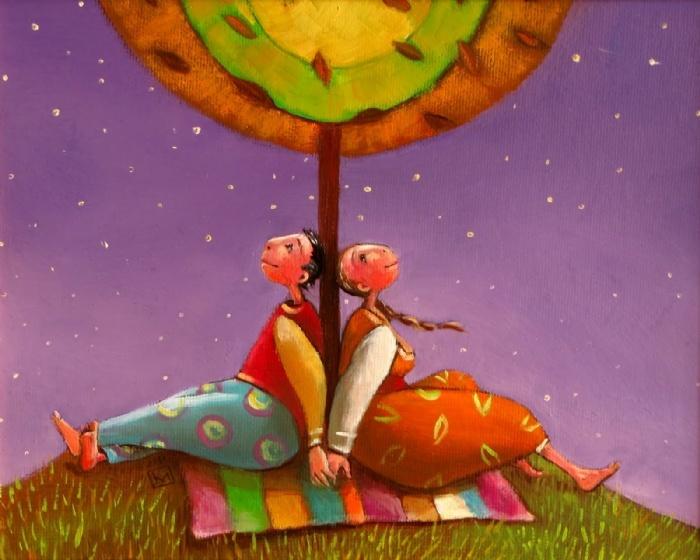 Ilustrações de Adriana Kalacheva