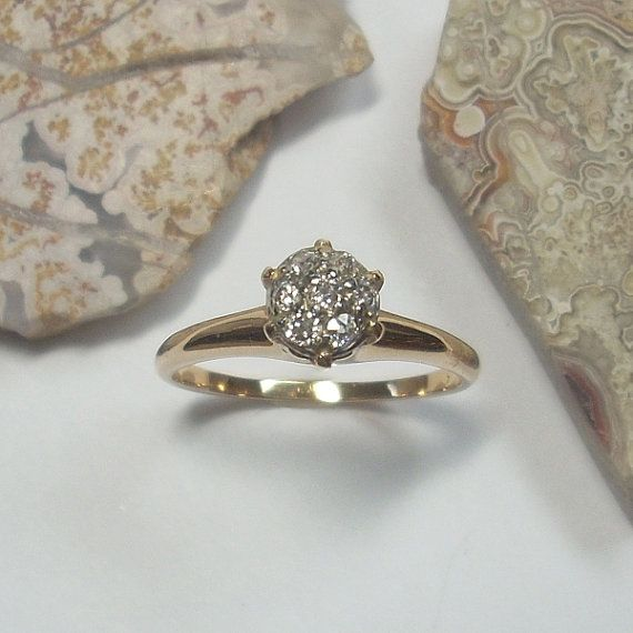 Hey, I found this really awesome Etsy listing at http://www.etsy.com/listing/125407543/antique-engagement-ring-antique-diamond