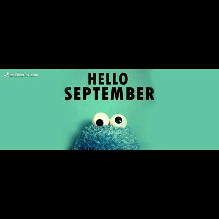 Hello september, keep spirit and keep smile☺