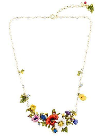 Les Néréides - Floraisons Sauvages Necklace