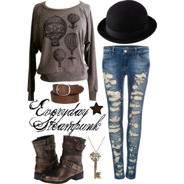 A fashion look from August 2013 featuring American Apparel sweatshirts, Pull&Bear jeans and Dirty Laundry ankle booties. Browse and shop related looks.