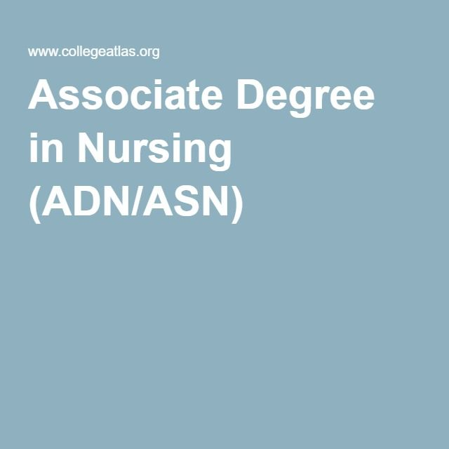 Associate Degree in Nursing (ADN/ASN) - wanna get going on this so I can be done before cam and I get married.