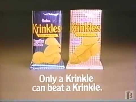 Hostess Krinkles Chips Commercial 1988