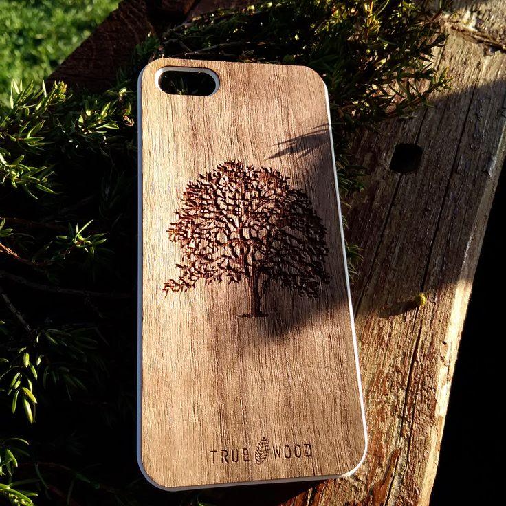 "iPhone 5/5S thin wooden panel ""Oak tree"" American walnut  #iphone #iphonecase #woodencases #woodenaccessories #cooking #lovecooking #чехолдляiphone Чехол для iPhone 5/5S"