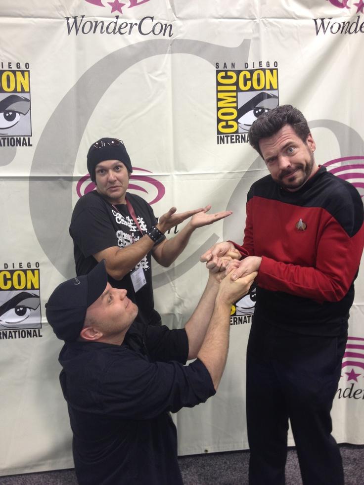 Clan of the Vein meets Star Trek Next Generation. #startrek @clanofthevein @Magda Sanchez