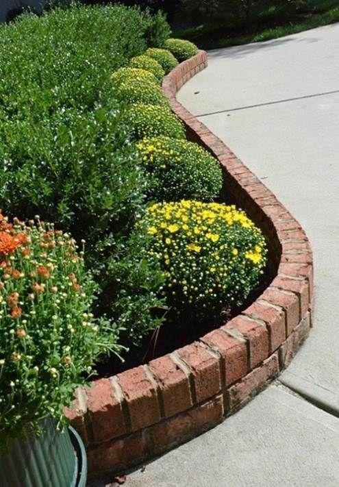 Brick Flower Bed Design Ideas Ortega Lawn Care Lawn And Garden