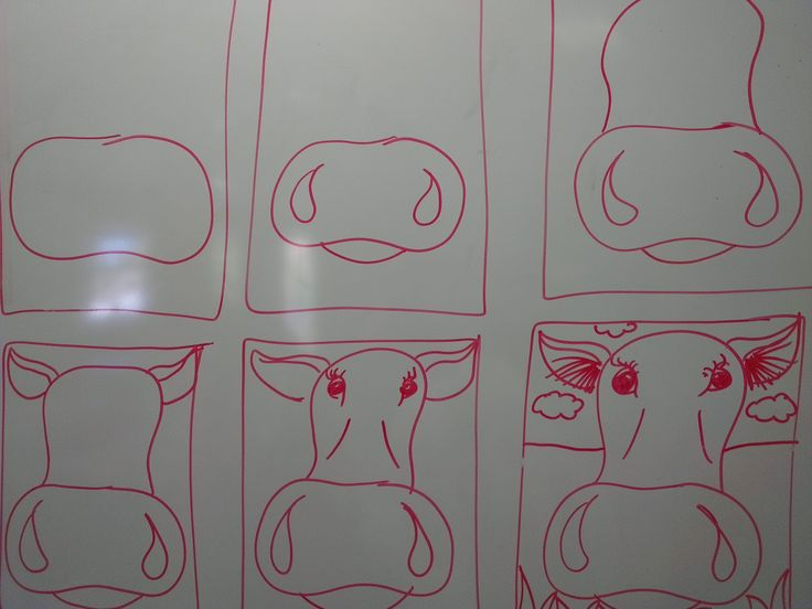 Once upon an Art Room: Close-up Cows!