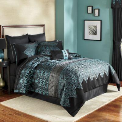 Kismet Woven Jacquard 10 Pc King Set Home Decor Indoor Pintere