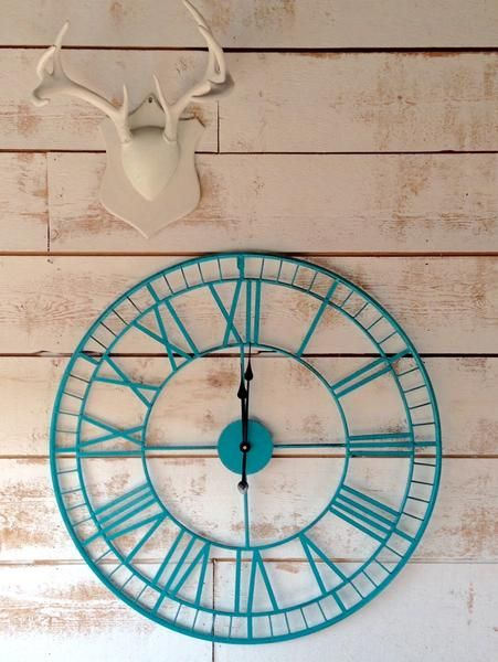 Large Metal Clock The Passionate Home