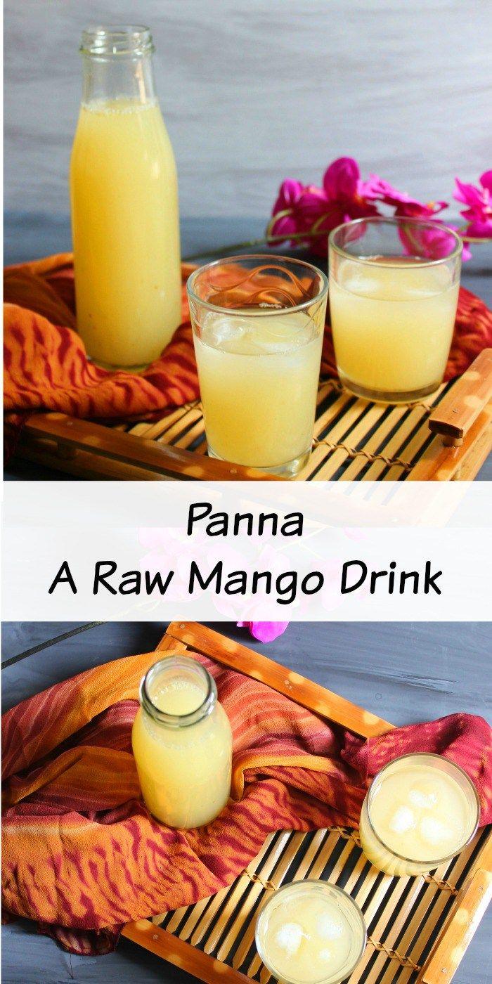 Panna -Raw mango drink