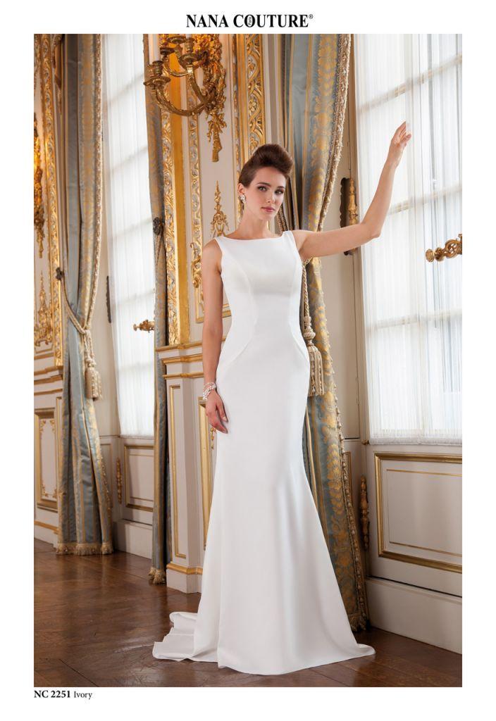 robe de marie morelle mariage lille vente en ligne robe de marie en crepe nana - Morelle Mariage