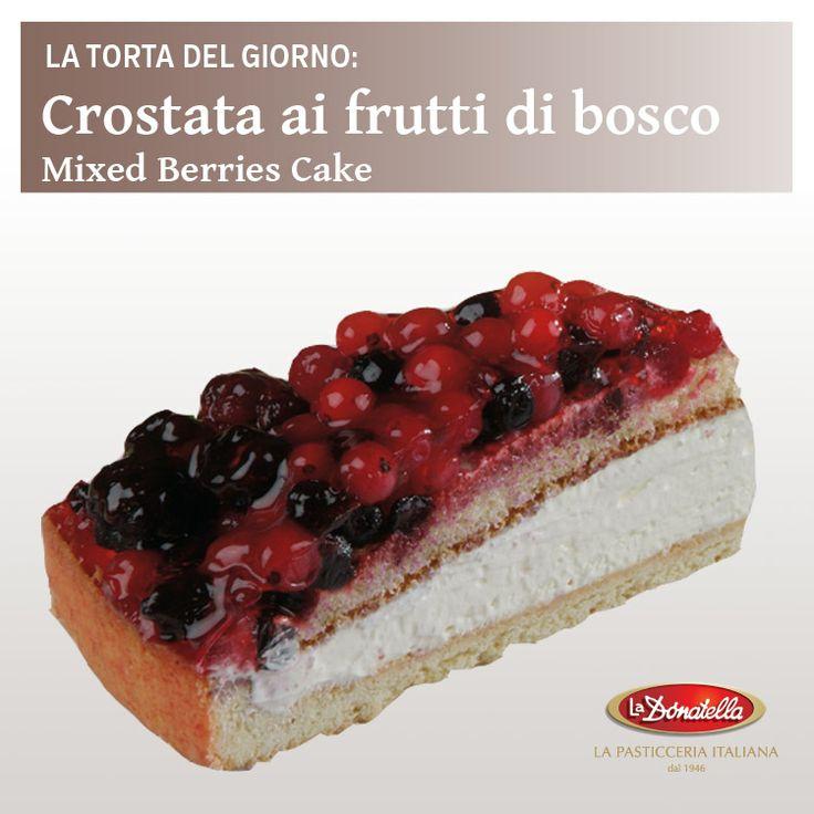 La nostra #crostata ai #fruttidibosco! Our mixed #berries #cake! #dessert #food #foodporn #pastry #pasticceria