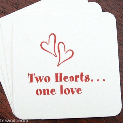 two hearts one love wedding decorations 21 best ideas about wedding coasters on 8138