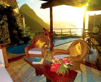 Ladera - St. Lucia this was our honeymoon room! Wish we were back there already!!